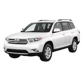 Navegador Multimedia GPS específico para Toyota Highlander XU40 (2007-2013)